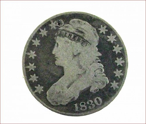 1830 50C half dollar