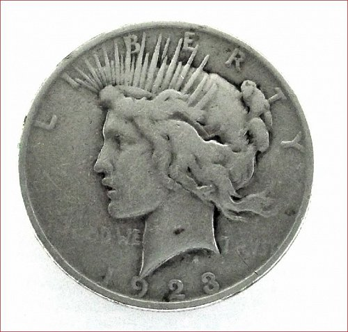 Peace Dollar 1923