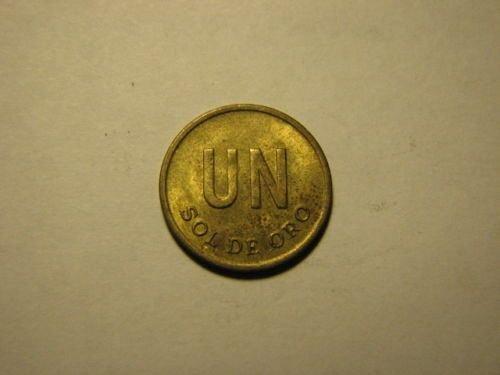 1976 Peru 1 sol de oro ***
