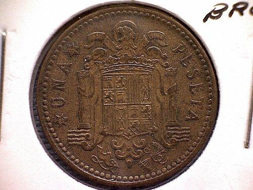 1953 (62)  SPAIN ONE PESETA