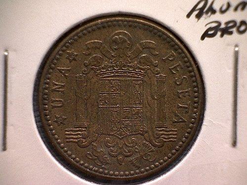 1963 (66)  SPAIN ONE PESETA