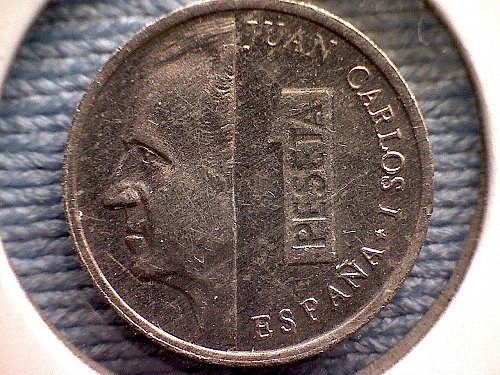 2001  SPAIN ONE PESETA