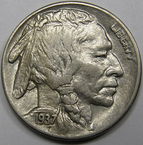 1937 S Buffalo Nickel #1