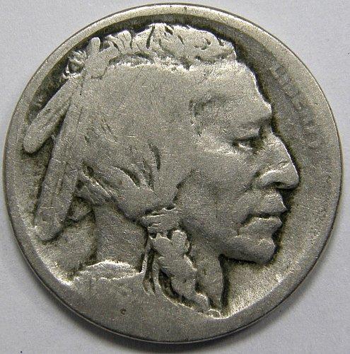 1913 S Buffalo Nickel #1 Type 1