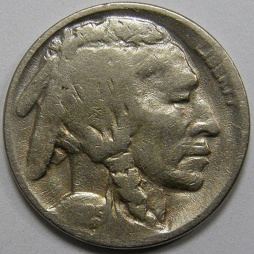 1925 D Buffalo Nickel #1
