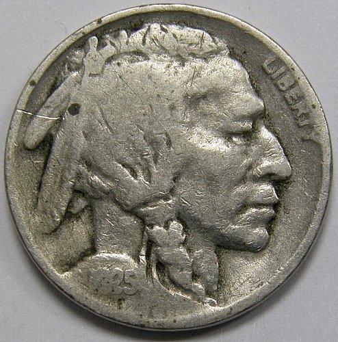 1925 S Buffalo Nickel #1