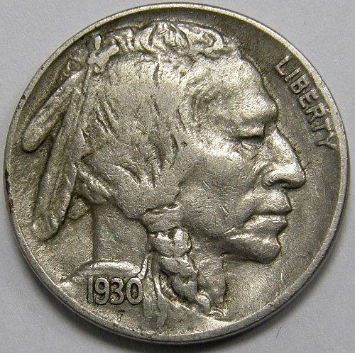 1930 S Buffalo Nickel #1