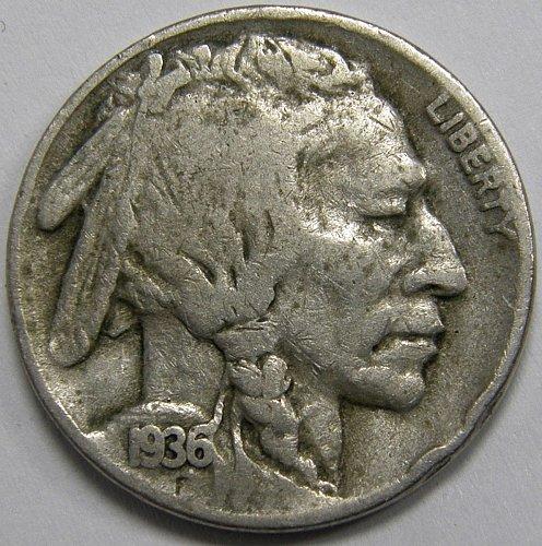 1936 D Buffalo Nickel #2