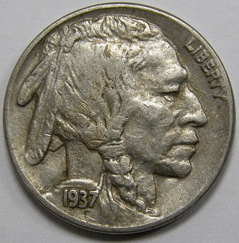 1937 P Buffalo Nickel #2