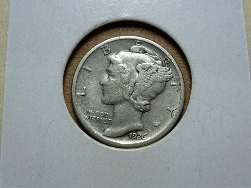 1926 D VF Very Fine Mercury Dime