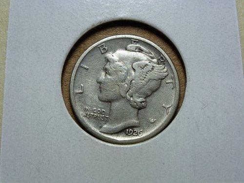 1926 D VF Very Fine Mercury Dime