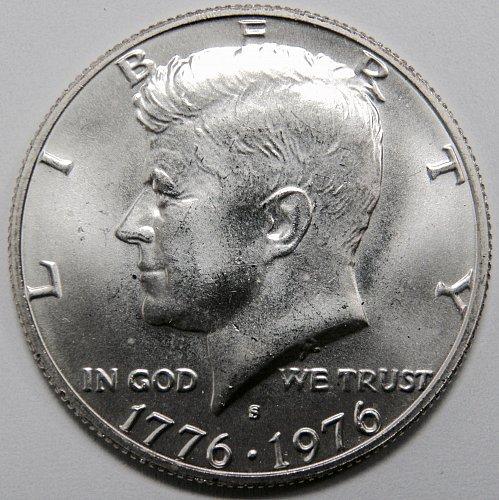 1976 S Kennedy Half Dollar #4 - 40% Silver