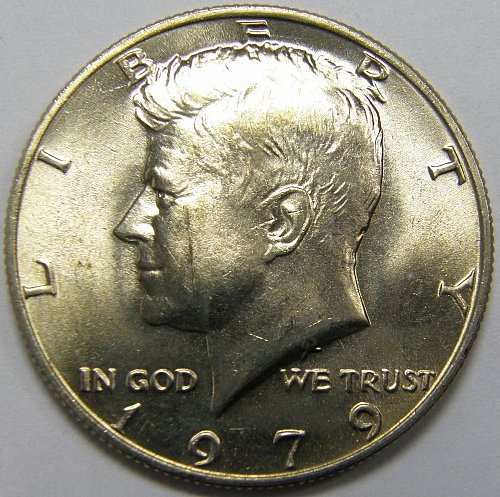 1979 P Kennedy Half Dollar #3