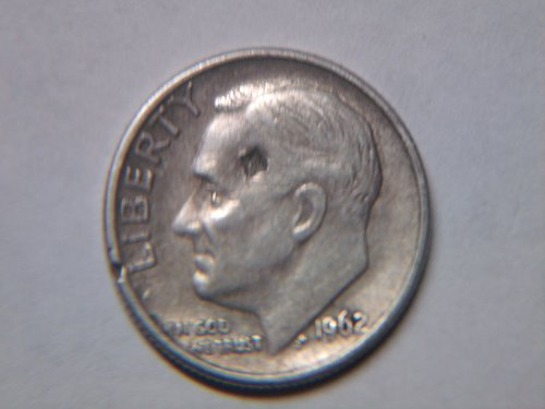 1962 P Roosevelt Dime