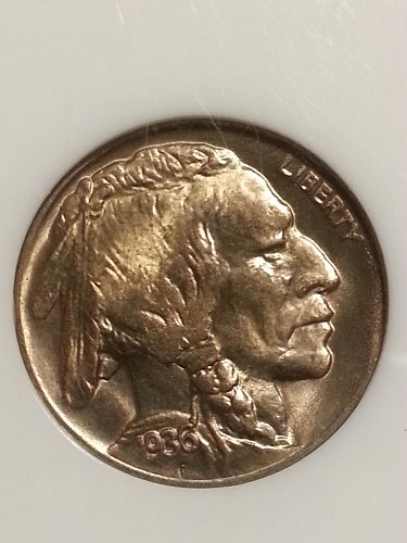1936-D Buffalo Nickel NGC MS-66