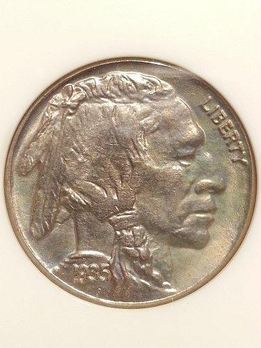 1935-S Buffalo Nickel NGC MS-66