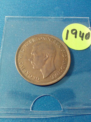 VERY HIGH GRADE - MS-63 - 1940 BRITISH LARGE PENNY