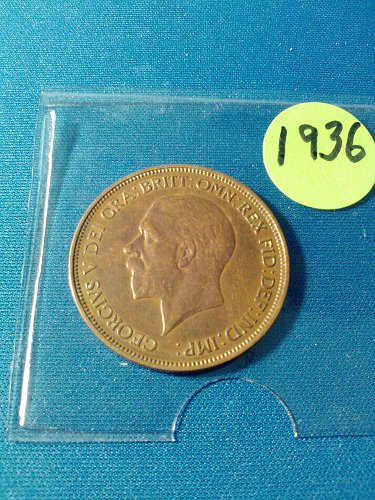 MS-60++ - 1936 BRITISH LARGE PENNY