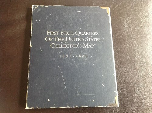 First State Quarters of the United States Collectors Map Folder 1999-2008