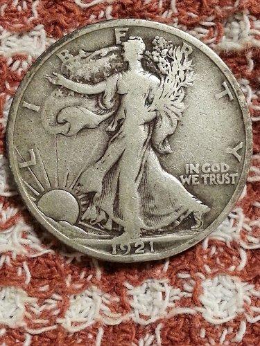 1921-S Walking Liberty Half