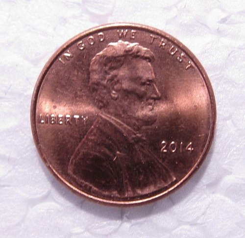 2014 P LINCOLN CENT DDO DOUBLE DIE OBVERSE