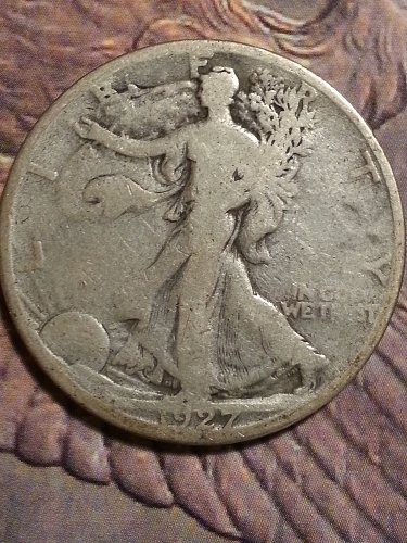 1927-S Walking Liberty Half