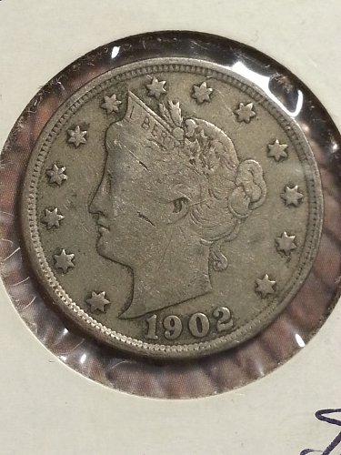 1902 Liberty Nickel