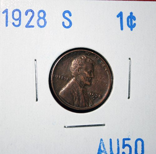 1928 S Lincoln Cent