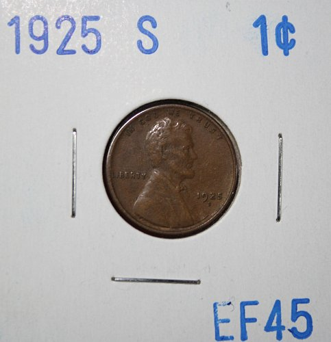 1925 S Lincoln Cent