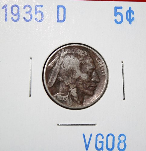 1935 D Buffalo Nickel