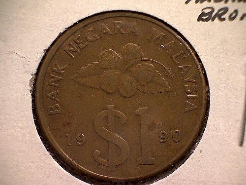 1990 MALAYSIA ONE RINGGIT