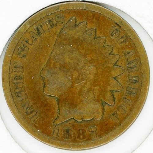 1887 Indian Head Cent Very Good #23
