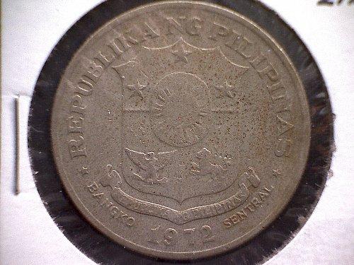 1972 PHILIPPINES ONE PISO