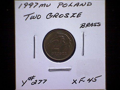 1997 mv POLAND TWO GROSZE