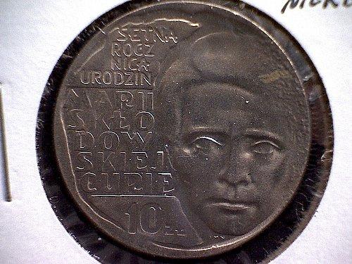 1967 POLAND TEN ZLOTYCH