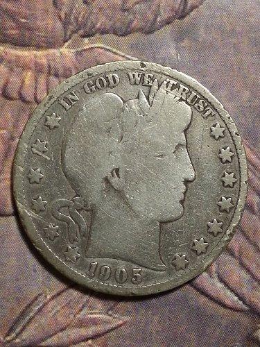 1905-S Barber Half