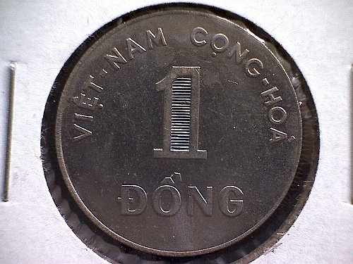 1964 SOUTH VIET NAM ONE DONG