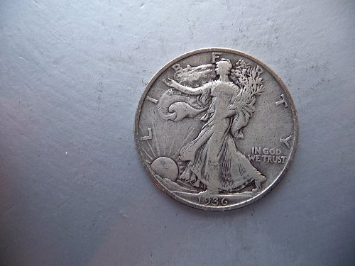 1936-S Walking Liberty Half Dollar