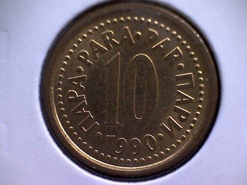 190 YUGOSLAVIA TEN PARA