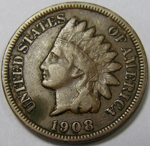1889 P Indian Head Cent #9
