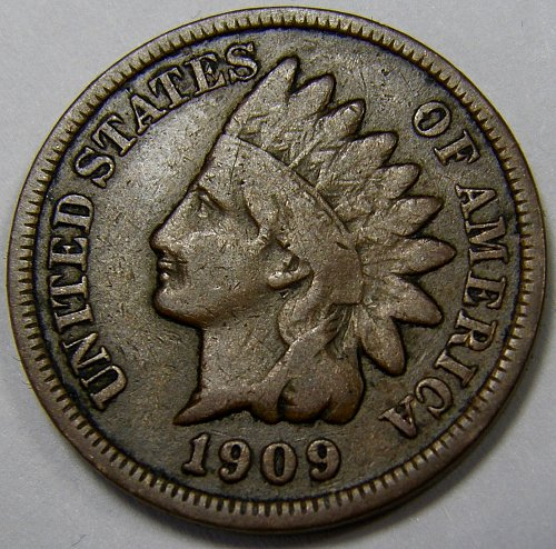 1909 P Indian Head Cent #28