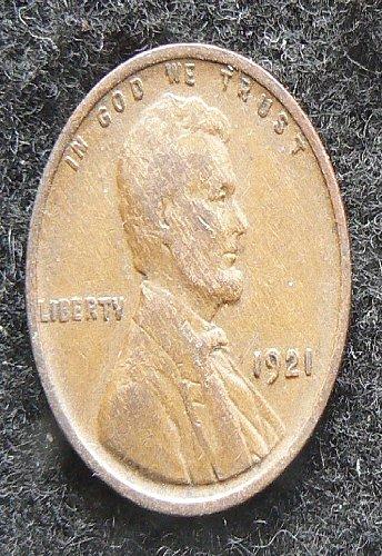1921 P Lincoln Wheat Cent (F-12)