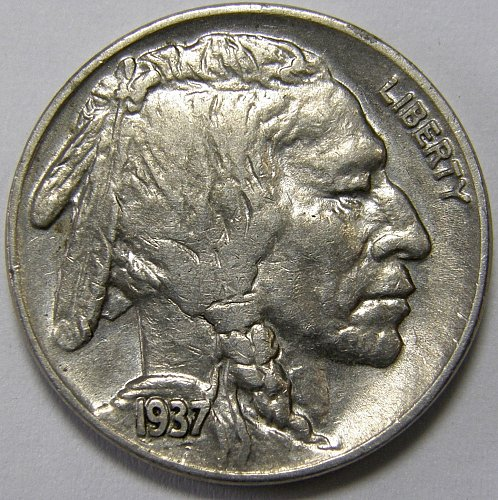 1937 D Buffalo Nickel #4