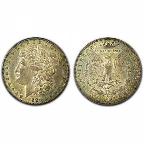 1884 S Morgan Silver Dollar - XF