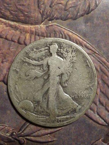 1920-D Walking Liberty Half