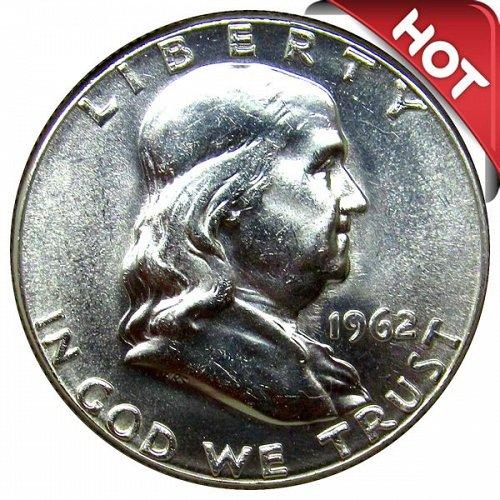 1962 Franklin Half Dollar - BU