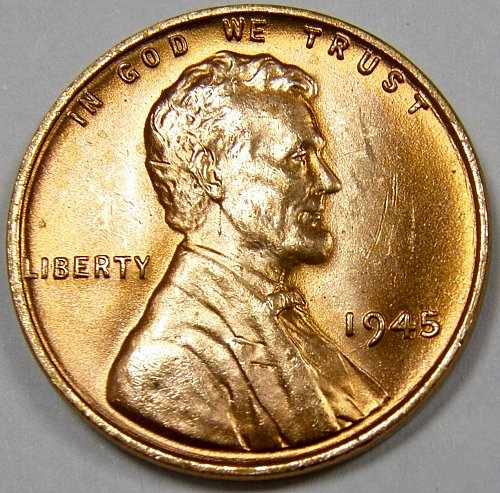 1945 P Lincoln Wheat Cent #1