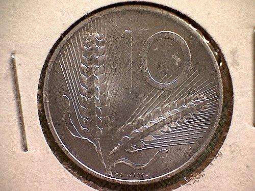 1952-R ITALY TEN LIRE