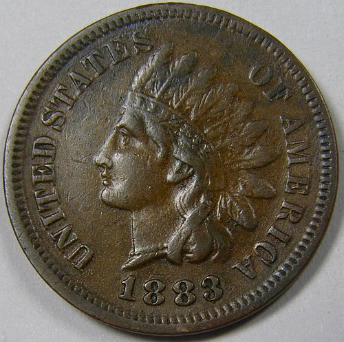 1883 Indian Head Cent #6