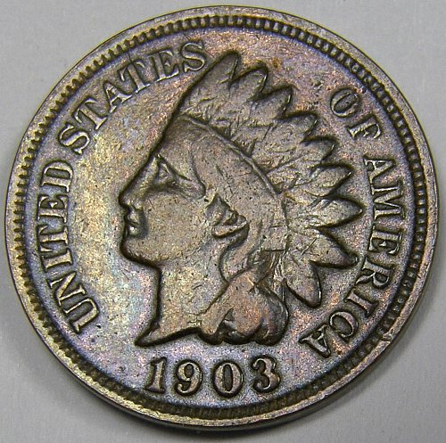 1903 P Indian Head Cent #7